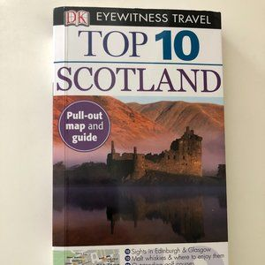 Top 10 Scotland Eyewitness, Travel Guide Book